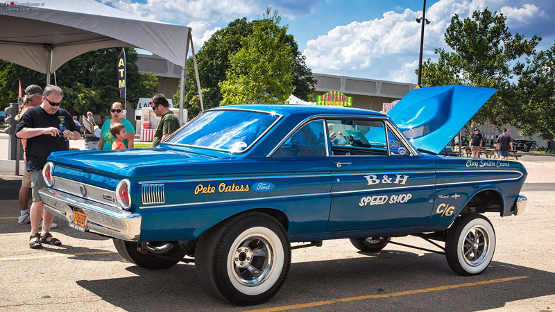 '64 Ford Falcon Sprint Hard Top Gasser 003-kevin-doolittle-1964-Ford-Falcon-Gasser